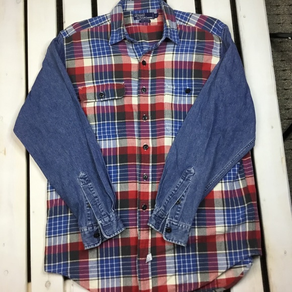 Polo by Ralph Lauren Other - Polo Ralph Lauren Plaid Flannel Vintage Mens large